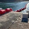 河道汛期攔污浮排