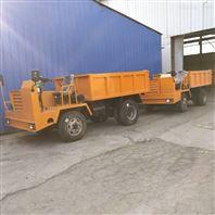 井下運輸車 礦用四驅拉煤車可定制