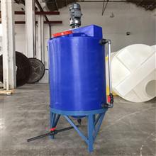CMC-2000L一次排清錐底水箱PE計量箱