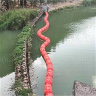 坝前生活垃圾挂网拦污浮球水库拦漂装置