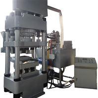 Y多块成型铁剂锰剂粉末成型液压机填料高度