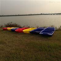 2米塑料船厂家销2米小船塑料保洁船钓