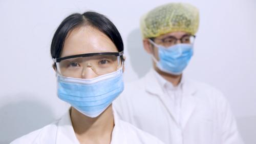 奥升德 基于Acteev技术开发的医用外科口罩达到III级防护等级
